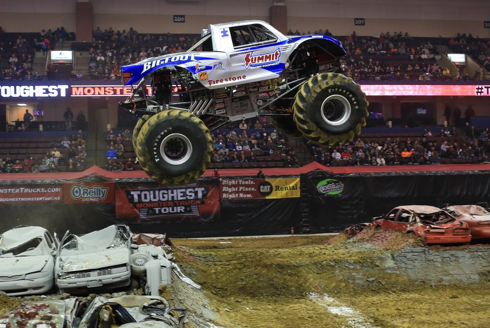 Celebrating 40 Years Team Bigfoot Collects 4th Consecutive Toughest Monster Truck Tour Championship